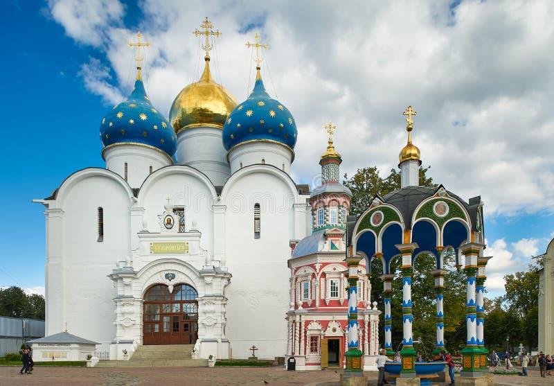 τριάδα του ST sergius της Ρωσίας μοναστηριών posad sergiev στοκ φωτογραφία με δικαίωμα ελεύθερης χρήσης