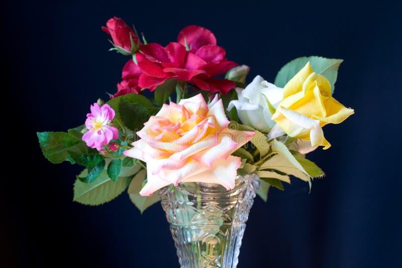 Download τριαντάφυλλα ανθοδεσμών στοκ εικόνες. εικόνα από χλωρίδα - 13189078