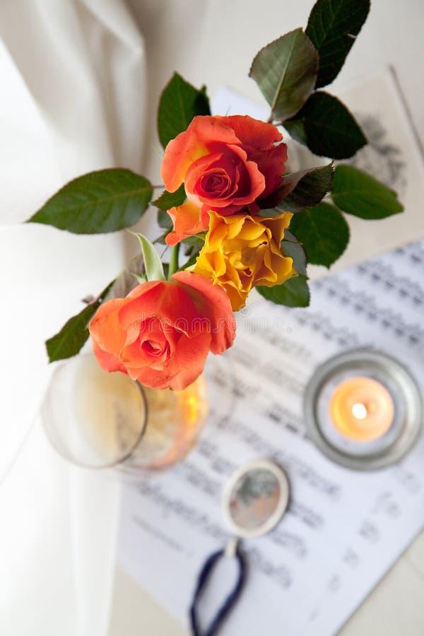 τριαντάφυλλα ανθοδεσμών στοκ εικόνα με δικαίωμα ελεύθερης χρήσης