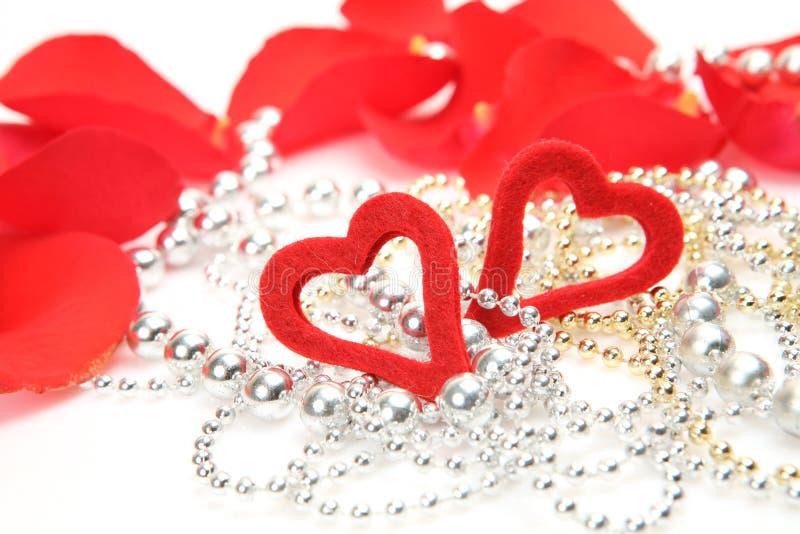 τριαντάφυλλα πετάλων καρ& στοκ εικόνες με δικαίωμα ελεύθερης χρήσης