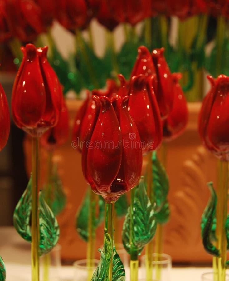 τριαντάφυλλα murano στοκ εικόνες