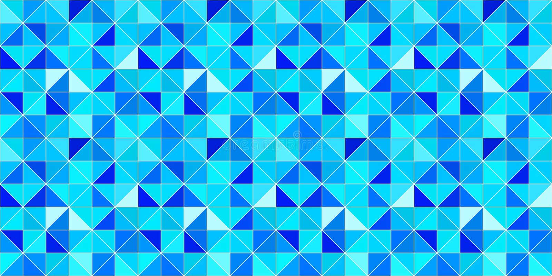 Τριγωνικό διανυσματικό υπόβαθρο σύγχρονο γεωμετρικό σκηνικό με τα τρίγωνα Μπλε φωτεινά χρώματα αφηρημένη σύσταση Χειμώνας διανυσματική απεικόνιση