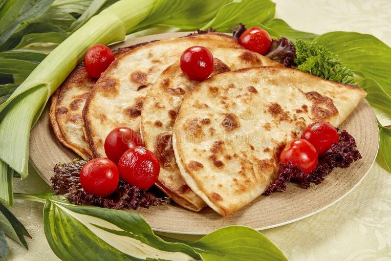 Τριζάτα tortilla κέικ στοκ φωτογραφία με δικαίωμα ελεύθερης χρήσης