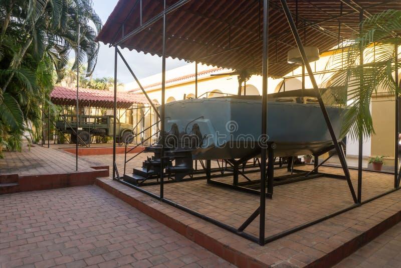 Τρινιδάδ, Κούβα, στις 3 Ιανουαρίου 2017: μικρό μουσείο επαναστάσεων στοκ εικόνες
