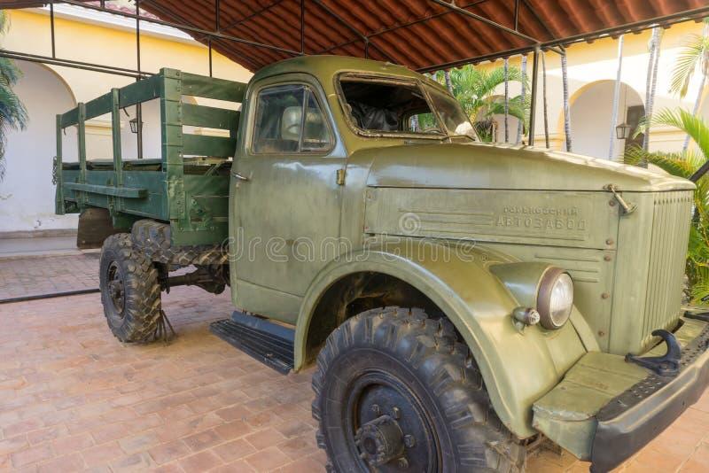 Τρινιδάδ, Κούβα, στις 3 Ιανουαρίου 2017: μικρό μουσείο επαναστάσεων στοκ φωτογραφία