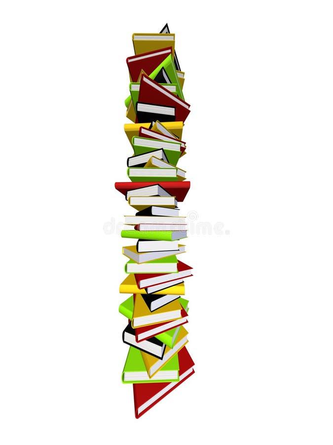 τρισδιάστατα βιβλία ελεύθερη απεικόνιση δικαιώματος