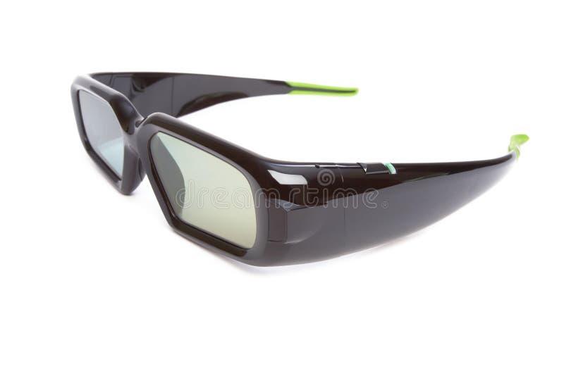 τρισδιάστατα γυαλιά διανυσματική απεικόνιση