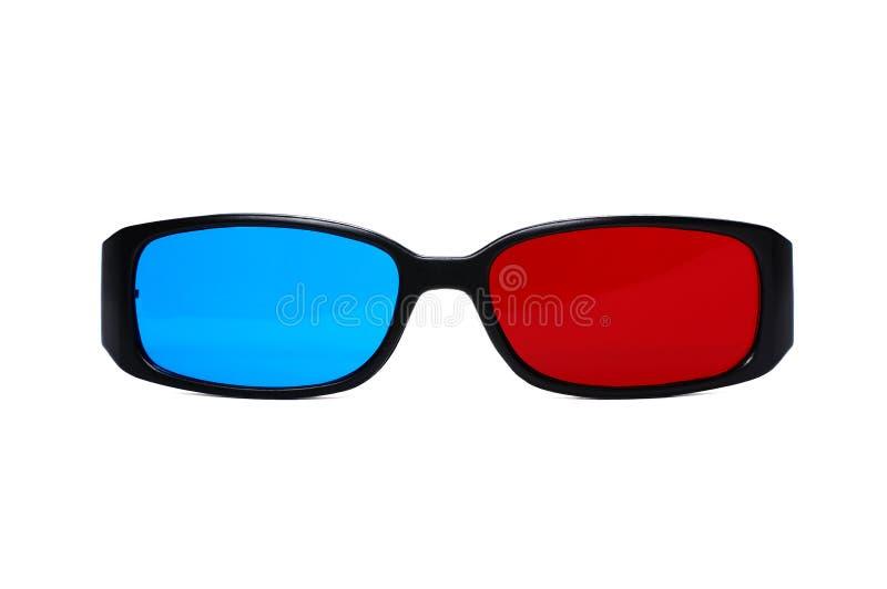 τρισδιάστατα γυαλιά στοκ εικόνα