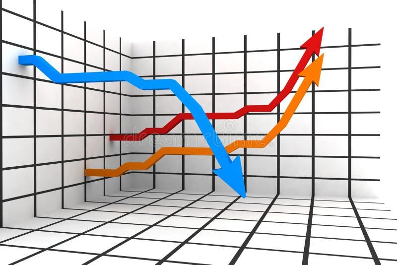 τρισδιάστατες στατιστι&ka ελεύθερη απεικόνιση δικαιώματος