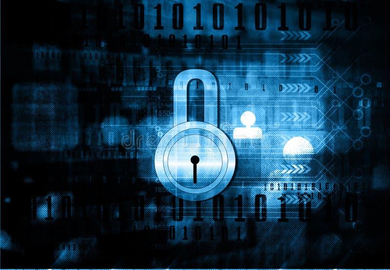 τρισδιάστατη έννοια Διαδίκτυο που δίνει την ασφάλεια στοκ φωτογραφία με δικαίωμα ελεύθερης χρήσης