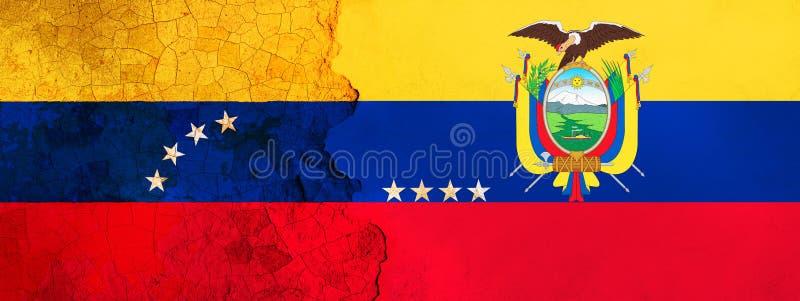 τρισδιάστατη απεικόνιση για τους της Βενεζουέλας μετανάστες που φεύγουν στον Ισημερινό λόγω της οικονομικής/πολιτικής κρίσης διανυσματική απεικόνιση