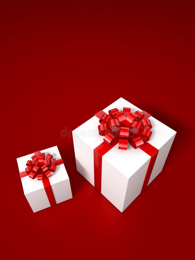Τρισδιάστατη απεικόνιση ελών δώρων στοκ εικόνα με δικαίωμα ελεύθερης χρήσης