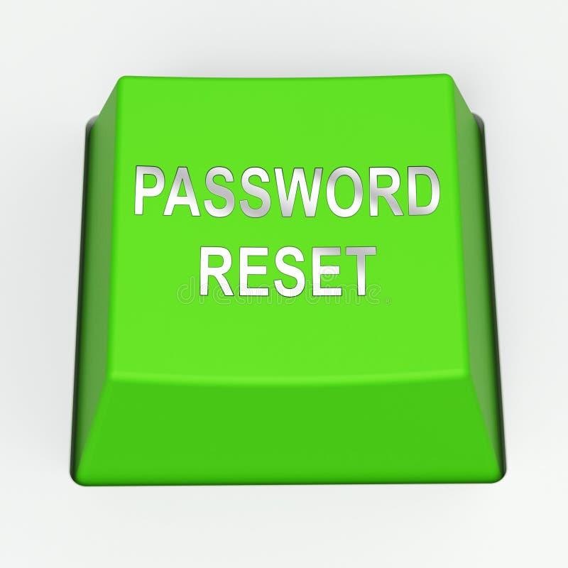 Τρισδιάστατη απόδοση αναπροσαρμογών διεπαφών ηλεκτρονικού ταχυδρομείου αναστοιχειοθέτησης κωδικού πρόσβασης απεικόνιση αποθεμάτων