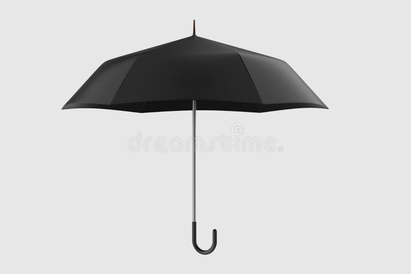 τρισδιάστατη απόδοση, η ομπρέλα με το άσπρο υπόβαθρο απεικόνιση αποθεμάτων