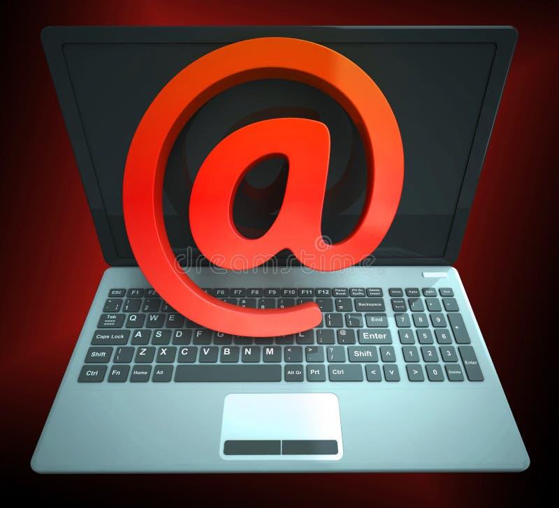 Τρισδιάστατη απόδοση προστασίας απειλής ηλεκτρονικού ταχυδρομείου Διαδίκτυο Phishing ελεύθερη απεικόνιση δικαιώματος