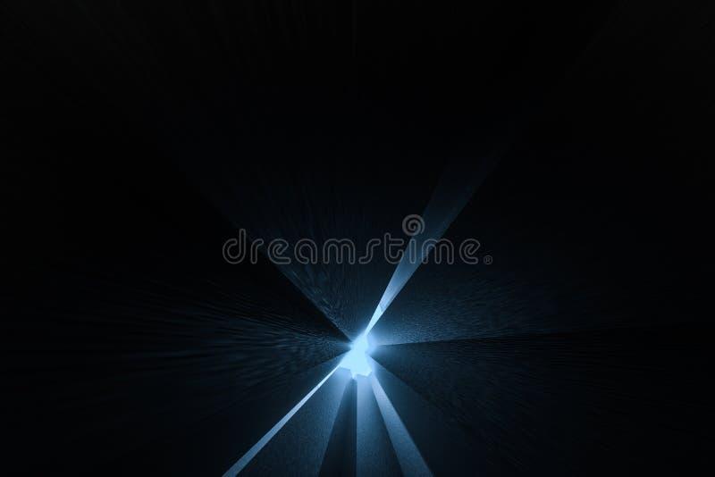τρισδιάστατη απόδοση, σκοτεινό υπόβαθρο, τούβλα κύβων με την ελαφριά επίδραση Ψηφιακό υπόβαθρο υπολογιστών απεικόνιση αποθεμάτων