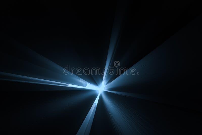 τρισδιάστατη απόδοση, σκοτεινό υπόβαθρο, τούβλα κύβων με την ελαφριά επίδραση Ψηφιακό υπόβαθρο υπολογιστών ελεύθερη απεικόνιση δικαιώματος