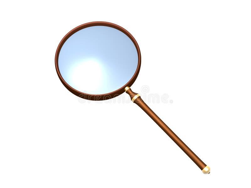 τρισδιάστατη ενίσχυση γυαλιού διανυσματική απεικόνιση