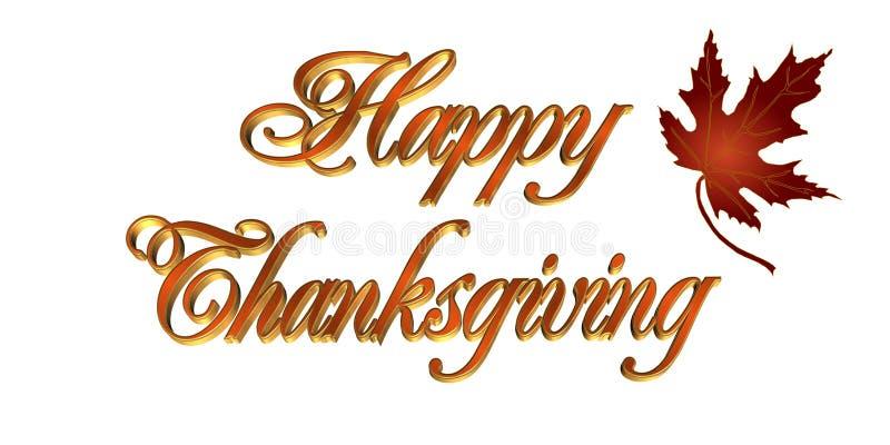 τρισδιάστατη ημέρα των ευχαριστιών κειμένων καρτών