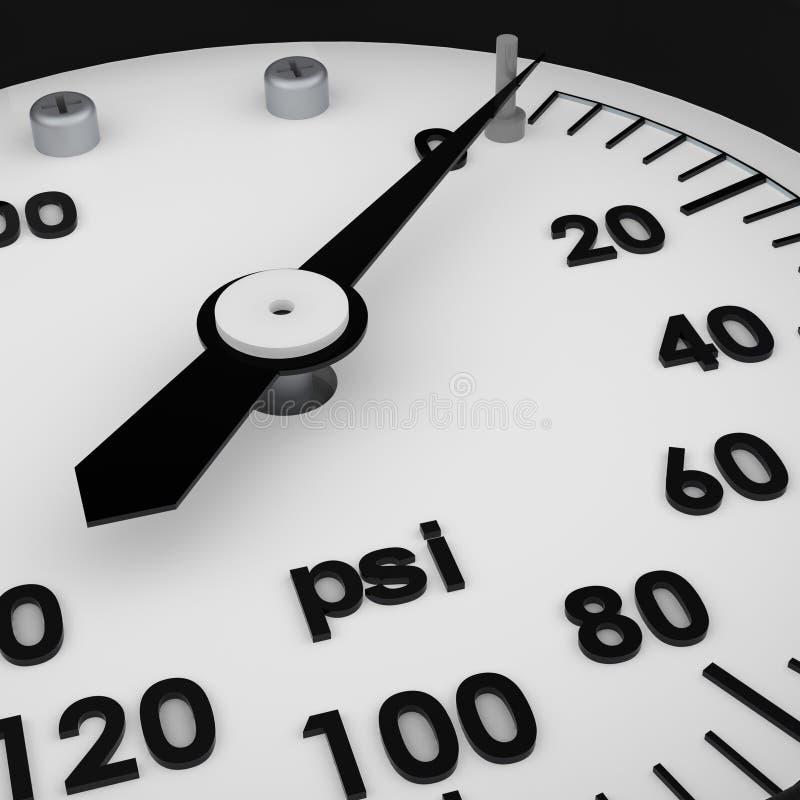 τρισδιάστατη μερική πίεση &mu απεικόνιση αποθεμάτων
