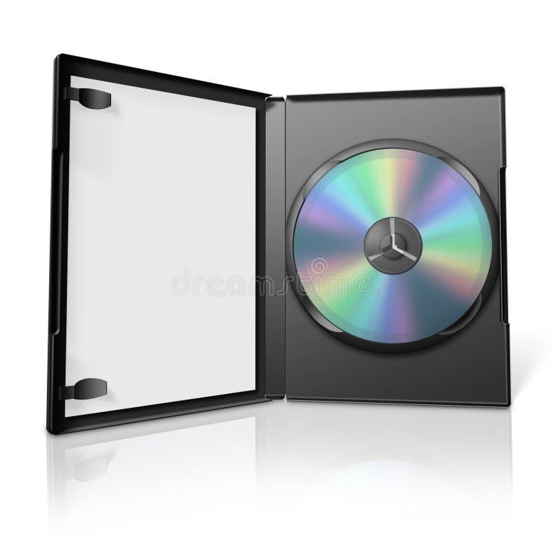 τρισδιάστατη περίπτωση dvd ελεύθερη απεικόνιση δικαιώματος