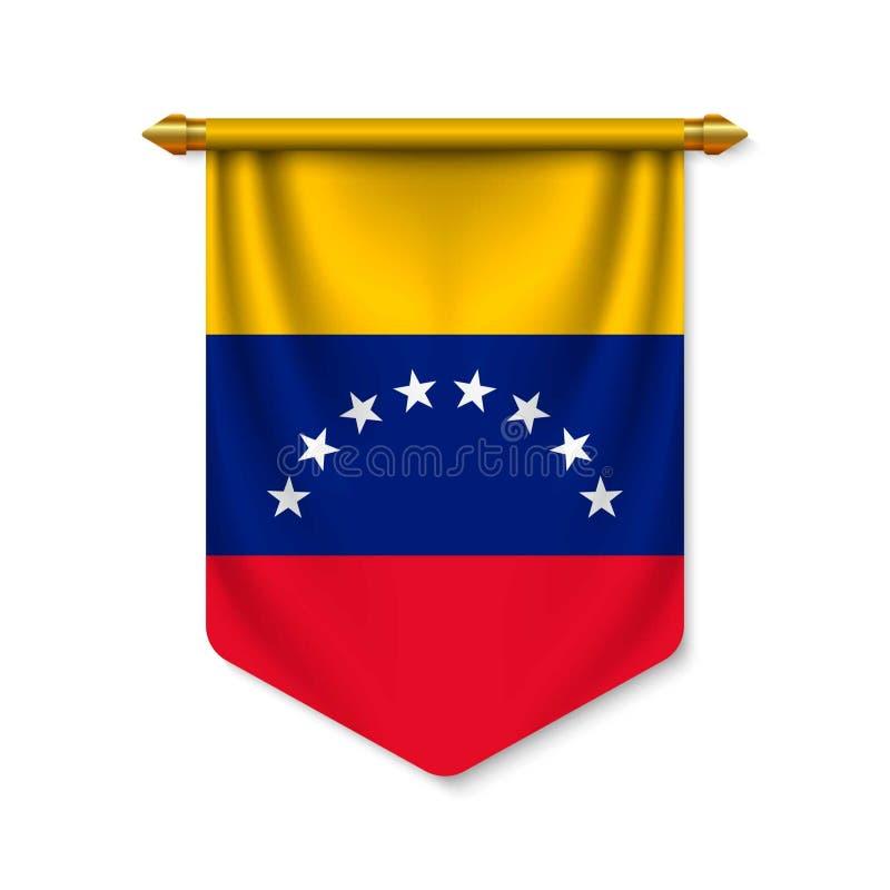 τρισδιάστατη ρεαλιστική σημαία με τη σημαία απεικόνιση αποθεμάτων