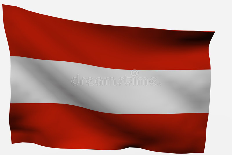 τρισδιάστατη σημαία της Α&upsi απεικόνιση αποθεμάτων
