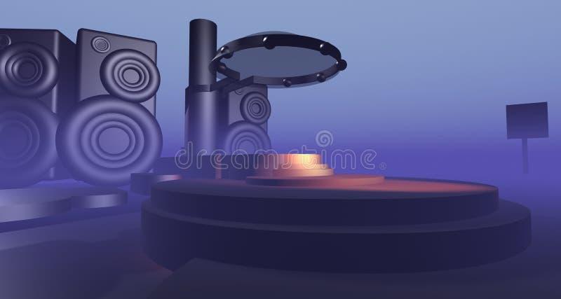 Download τρισδιάστατη σκηνή απεικόνιση αποθεμάτων. εικονογραφία από ήχος - 2228883