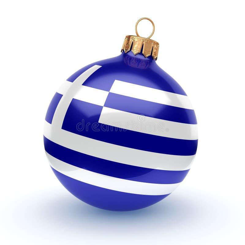τρισδιάστατη σφαίρα Χριστουγέννων απόδοσης ελεύθερη απεικόνιση δικαιώματος