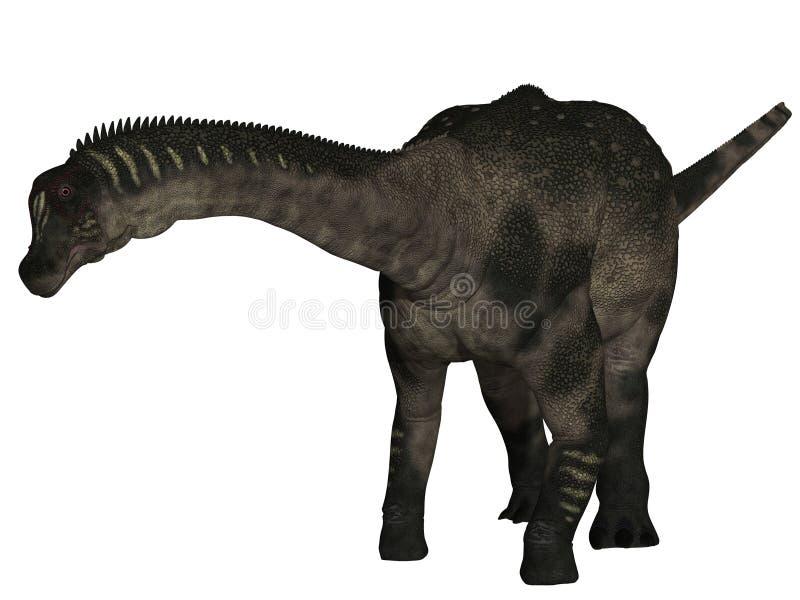 τρισδιάστατος δεινόσαυ& διανυσματική απεικόνιση