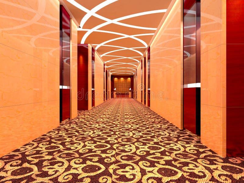 τρισδιάστατος διάδρομο&si διανυσματική απεικόνιση