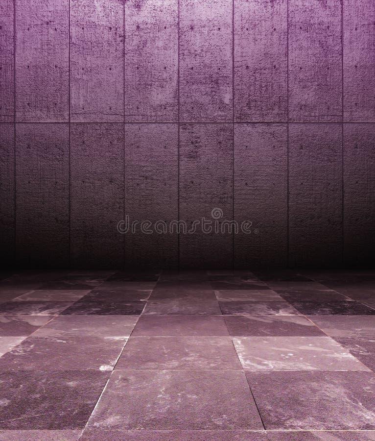 Download τρισδιάστατος εσωτερικός σκουριασμένος ιώδης τοίχος Grunge Απεικόνιση αποθεμάτων - εικονογραφία από ανασκόπησης, δωμάτιο: 22789910