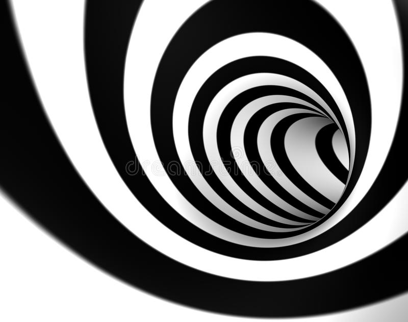 τρισδιάστατος στρόβιλο&sig διανυσματική απεικόνιση