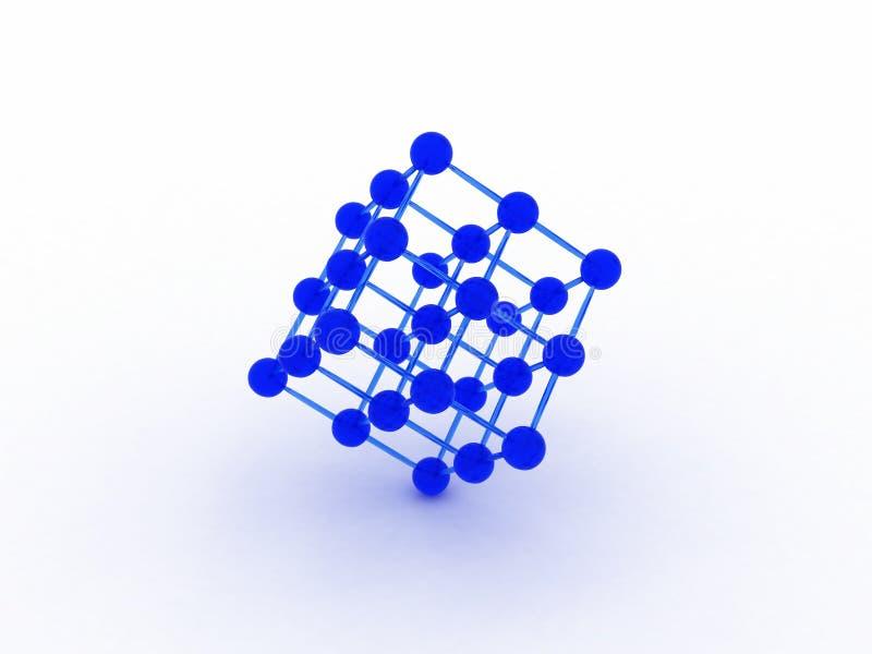 τρισδιάστατο δίκτυο απεικόνιση αποθεμάτων
