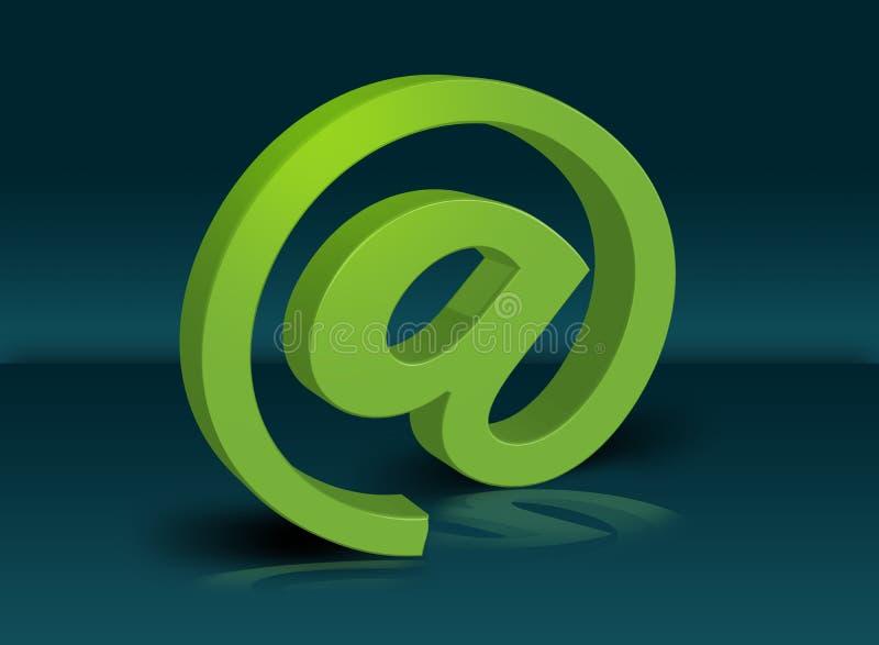 τρισδιάστατο ηλεκτρονικό ταχυδρομείο ελεύθερη απεικόνιση δικαιώματος