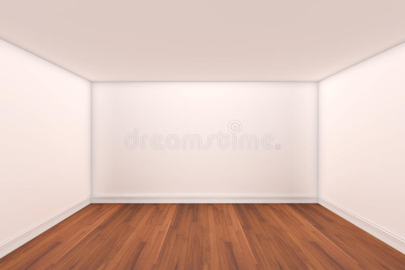 τρισδιάστατο κενό δωμάτι&omicro απεικόνιση αποθεμάτων