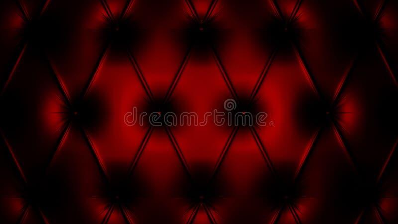 τρισδιάστατο μαύρο κόκκιν διανυσματική απεικόνιση