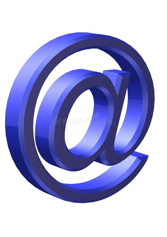 τρισδιάστατο μπλε ελεύθερη απεικόνιση δικαιώματος