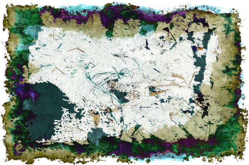 τρισδιάστατο νεβρικό Grunge σχ& Στοκ Φωτογραφία