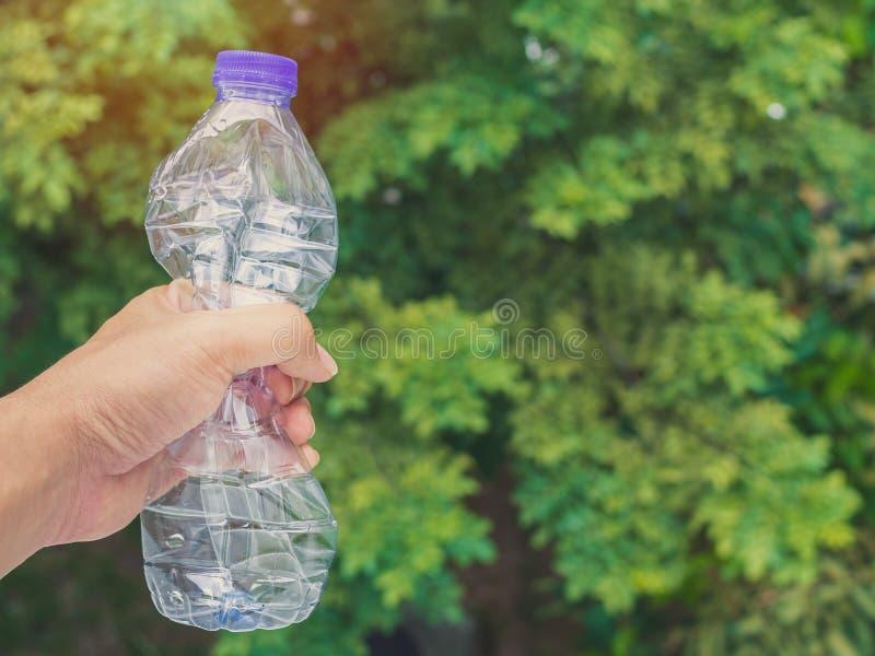 τρισδιάστατο πρότυπο πλαστικό λευκό μπουκαλιών στοκ εικόνες με δικαίωμα ελεύθερης χρήσης