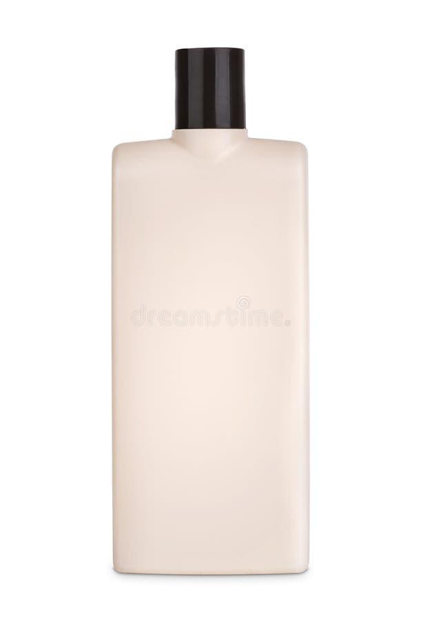 τρισδιάστατο πρότυπο του καφετιού πλαστικού μπουκαλιού στοκ εικόνα με δικαίωμα ελεύθερης χρήσης