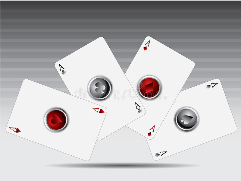 Download τρισδιάστατο πόκερ καρτών &k Διανυσματική απεικόνιση - εικονογραφία από φτυάρι, κόκκινος: 13177147