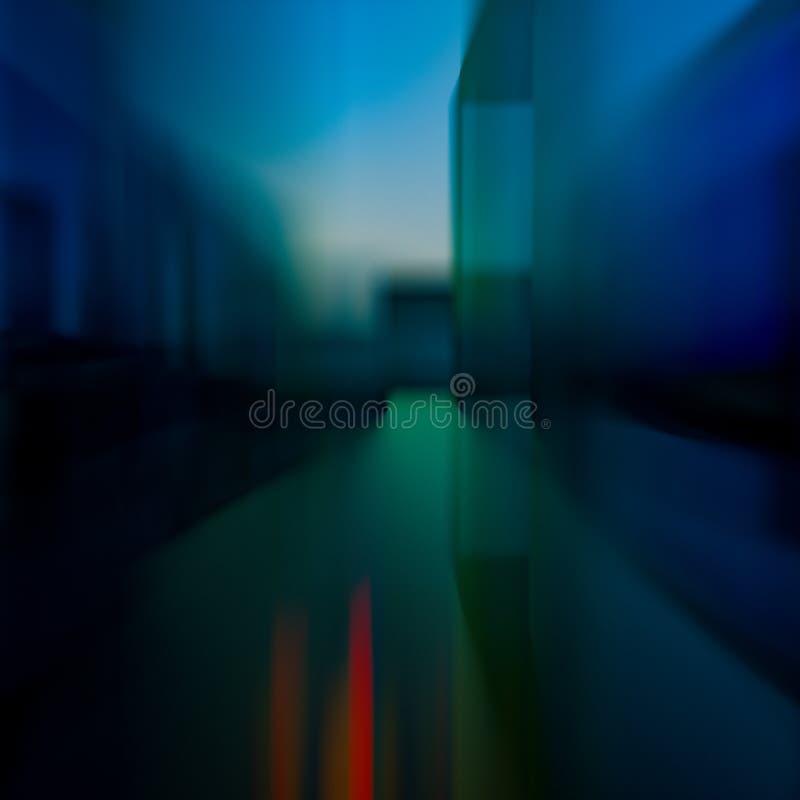 τρισδιάστατο σύγχρονο αφηρημένο υπόβαθρο απεικόνισης με τις μπλε μορφές διανυσματική απεικόνιση