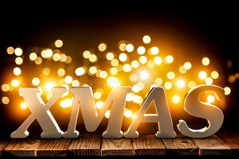 Τρισδιάστατο υπόβαθρο Χριστουγέννων απεικόνιση αποθεμάτων