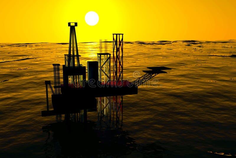 τρισδιάστατο ωκεάνιο ηλ&i απεικόνιση αποθεμάτων