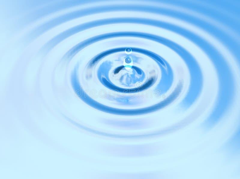 τρισδιάστατο ύδωρ σταλα&gam διανυσματική απεικόνιση