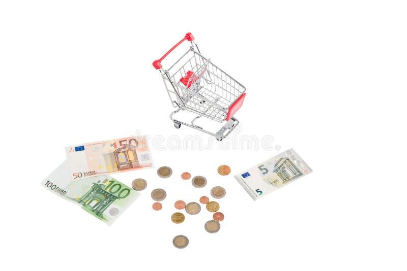τρισδιάστατες παραγμένες κάρρο αγορές εικόνας στοκ φωτογραφία με δικαίωμα ελεύθερης χρήσης