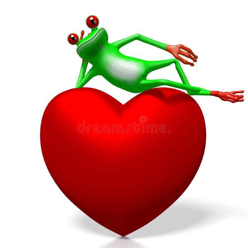 τρισδιάστατη έννοια αγάπης διανυσματική απεικόνιση