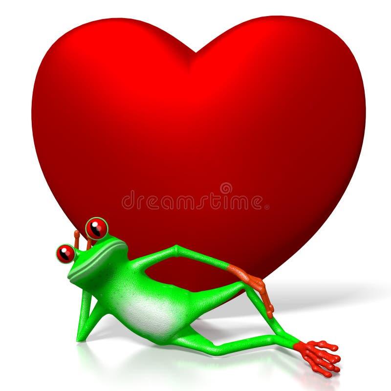 τρισδιάστατη έννοια αγάπης απεικόνιση αποθεμάτων