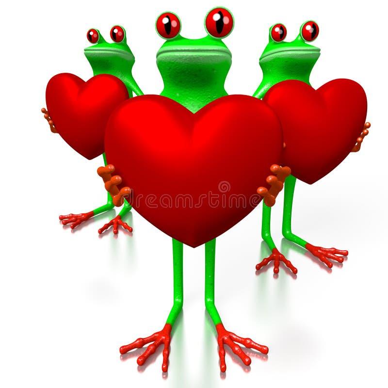 τρισδιάστατη έννοια αγάπης ελεύθερη απεικόνιση δικαιώματος